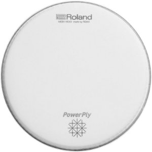 "Pele Para Bateria Roland Mesh Head PowerPly Mh2-16 16"""