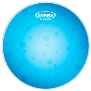 """Pele Para Caixa Evans Porosa Hydraulic Blue 14"""" B14HB Azul"""