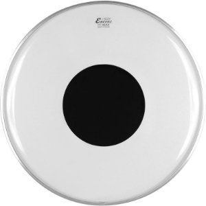 "Pele Remo Encore Controlled Sound Transparente 18"" En-1318-Ct"