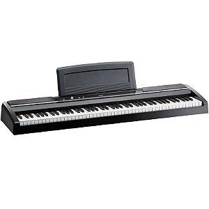 Piano Digital Korg Sp-170s Preto