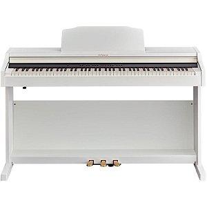 Piano Digital Roland Rp501r Wh Branco Com Banco