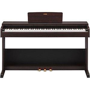 Piano Digital Yamaha Arius Ydp-103 Rosewood Com Estante E Banco