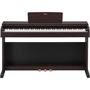 Piano Digital Yamaha Arius Ydp-143 Rosewood Com Estante E Banco