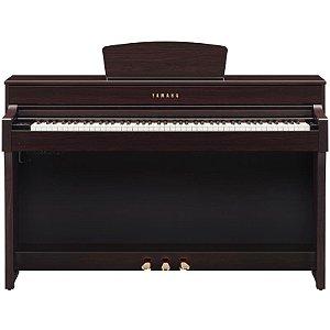 Piano Digital Yamaha Clavinova Clp-635 Rosewood Com Estante E Banco