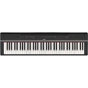 Piano Digital Yamaha P121 B Preto 73 Teclas