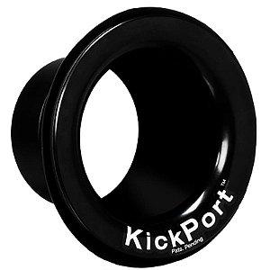 Potencializador de Bumbo e Molde Kickport Kp1 Preto