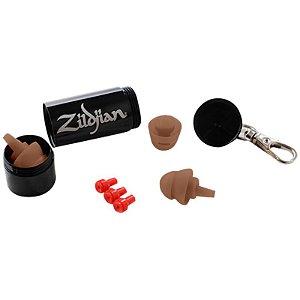Protetor Auricular Zildjian Earplugs Dark Zplugsd