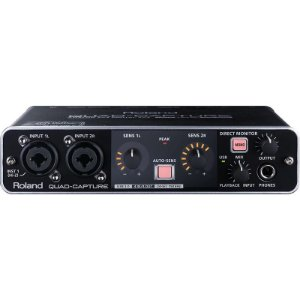 Quad-Capture Interface De Audio Usb Roland Ua55