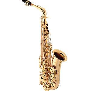 Saxofone Alto Eagle SA501 Laqueado Em Eb Com Case
