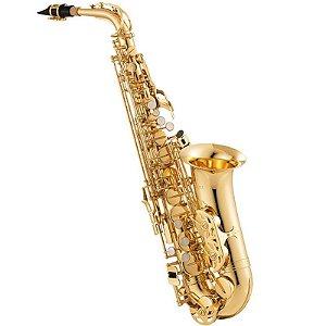 Saxofone Alto Jupiter Jas 567 Gold Lacquer Em Eb Com Case