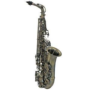 Saxofone Alto Michael Escovado Wasm46 Em Eb Com Case Mochila