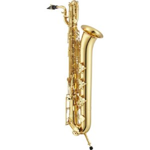 Saxofone Barítono Jupiter Jbs1000 Gold Lacquer Eb Com Case