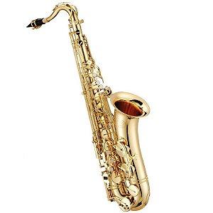 Saxofone Tenor Jupiter 587 Gold Lacquer Em Bb Com Case