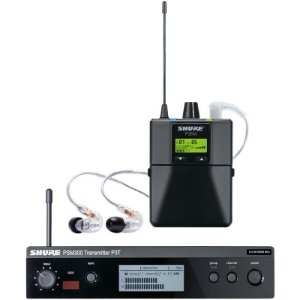 Sistema De Monitor Pessoal Shure P3tra215cl + Fone Se215
