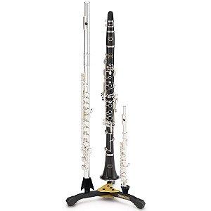 Suporte Para Flauta Transversal Clarinete Flauta Picollo Hercules Ds543bb