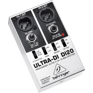 Direct box ativo 2 canais Ultra DI20