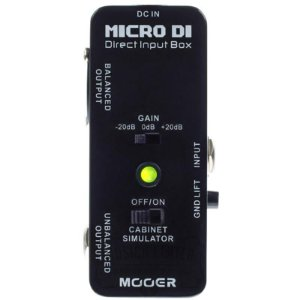 Direct Box Mooer Micro Di Direct Box Mdi1