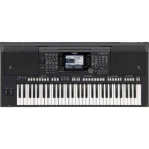 Teclado Arranjador Workstation Yamaha PSR S750 Com Fonte