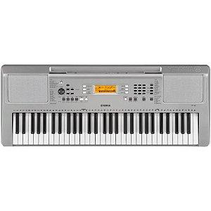 Teclado Arranjador Yamaha Ypt-360 61 Teclas Com Fonte