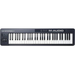 Teclado Controlador M-audio Keystation 61II Midi Usb Com 61 Teclas