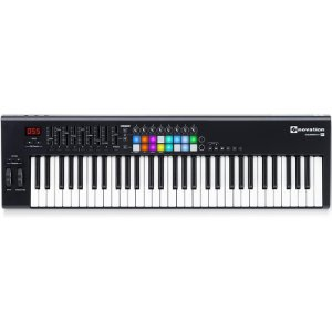 Teclado Controlador Midi USB Novation Launchkey 61 Mk2