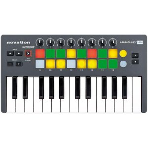 Teclado Controlador USB Novation Launchkey Mini