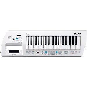 Teclado Sintetizador Roland Ax-09 Keytar Lucina Branco