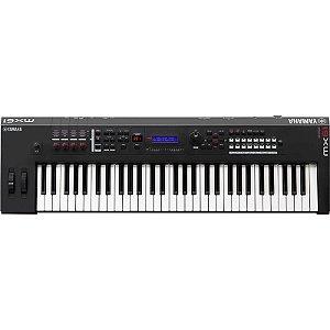 Teclado Sintetizador Yamaha Mx61 V2 61 Teclas Com Fonte