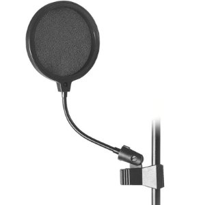 Tela Anti Ruido Pop Filter 6 On Stage Asvs6bl