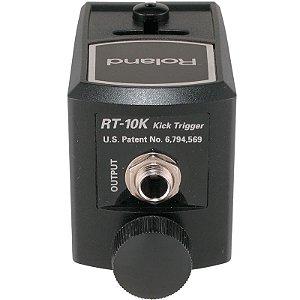 Trigger De Bumbo Roland Para Bateria Acústica Eletrônica Híbrida RT-10K