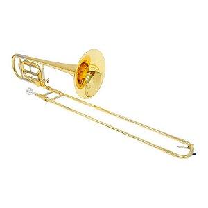 Trombone De Vara Shelter Tjs6423 l2 Bb F Com Case