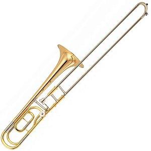 Trombone De Vara Yamaha Ysl356ge Dourado