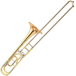 Trombone De Vara Yamaha Ysl446Ge Dourado