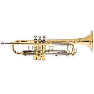 Trompete Eagle TR504 Laqueado Em Bb Com Case