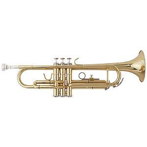 Trompete Nuova Ntr3l Em Sí Bemol (Bb) Com Estojo