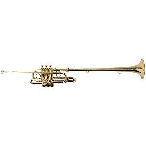 Trompete Triunfal Michael Wttm35n Laqueado Com Case