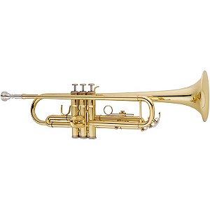 Trompete Vogga Vstr701 Laqueado Com Case