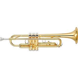 Trompete Yamaha Ytr 2330 Laqueado Dourado Em Bb Com Case
