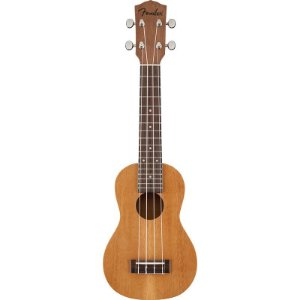 Ukulele Fender - 095 5652 - Piha'eu Soprano - 021 - Natural