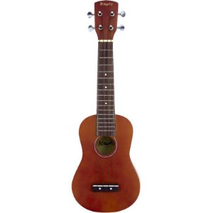 Ukulele Soprano Acoustic AUK100 Basswood Natural Com Bag