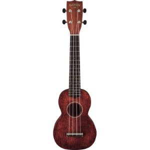 Ukulele Soprano Natural Gretsch G9100-L Long Neck Com Capa 273 0021 321