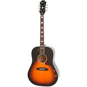 Violão Elétrico Aço Epiphone EJ-160E John Lennon Vintage Sunburst