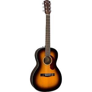 Violão Fender Parlor Cp-140 Se Sunburst Com Case
