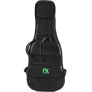 Bag Newkeepers Para Guitarra Amazon Croco Preto