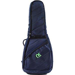 Bag Newkeepers Para Violão Folk MaxiPro Azul
