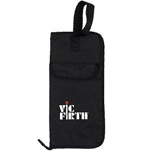 Bag Para Baquetas Vic Firth Bsb Para 12 Baquetas Preta
