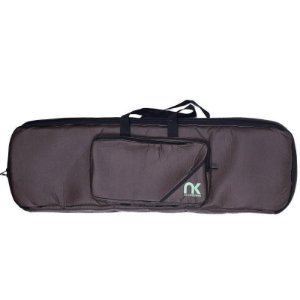 Bag Para Teclado Compacto 5/8 NewKeepers Couro Reconstituído Marrom