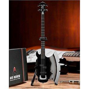 Baixo Miniatura Axe Heaven Axe Bass Gene Simmons
