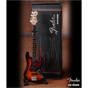 Baixo Miniatura Axe Heaven Jazz Bass Fender F5-002