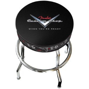 "Banco Fender Barstool 24"" Custom Shop"